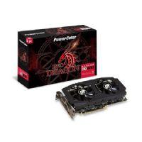 Placa de Vídeo AMD Radeon RX 580 8GB DDR5 256Bits Red Dragon Power Color (1x DVI-D / 1x HDMI / 3x DisplayPort) - AXRX580 8GBD5-3DHDV2/OC