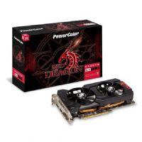 Placa de Vídeo AMD Radeon RX 570 4GB DDR5 256Bits Red Dragon Power Color - (1x DVI-D / 1x HDMI / 1x DisplayPort) - AXRX 570 4GBD5-DHDV3/OC