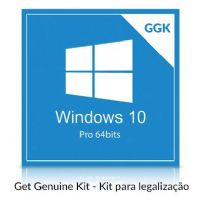 Software GGK Microsoft Windows 10 Professional 64 bits (Get Genuine Kit)
