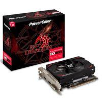 Placa de Vídeo AMD Radeon RX 550 2GB - DDR5 128Bits Red Dragon Powercolor