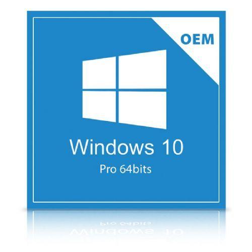 Sistema Operacional Microsoft Windows PRO 10 64 Bits - Licença OEM