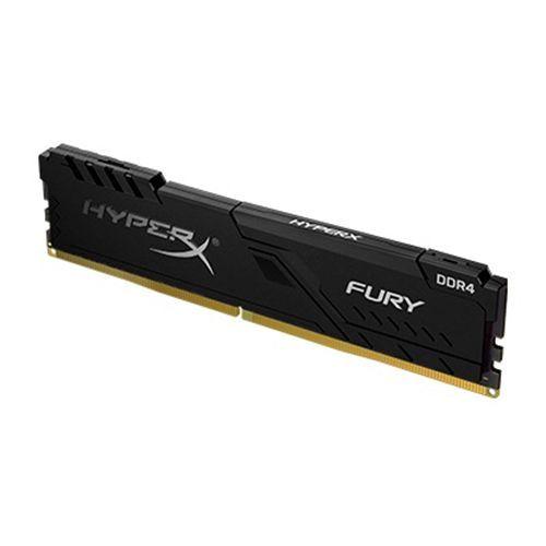 Memória GAMER DDR4 16GB 2666MHz CL16 FURY Black Kingston (HX426C16FB4/16)