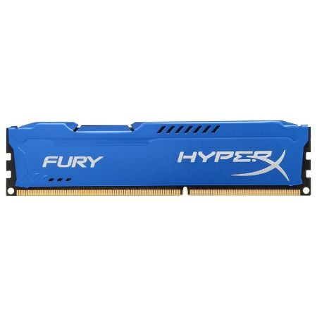 Memória DDR3 8GB 1600mhz Hyperx Fury Blue CL10 Kingston