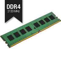 Memória DDR4 4GB 2133mhz CL15 Kingston (KVR21N15S8/4)