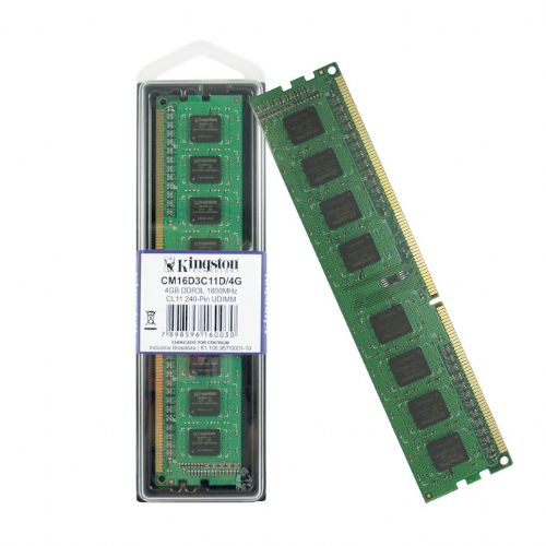 Memória DDR3 4GB 1600mhz CL11 Kingston (CM16D3C11D/4G)