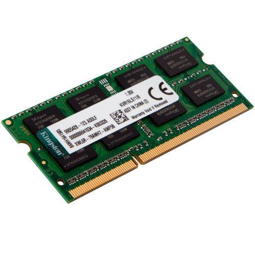 Memória de notebook 8GB 1600MHZ DDR3L CL11 Kingston 1,35v (KVR16LS11/8)