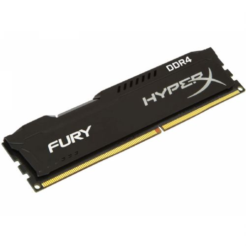 Memória DDR4 8GB 2400MHz CL15 Kingston HyperX Fury Black (HX424C15FB2/8)