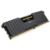 Memória GAMER DDR4 8GB 2400MHz CL16 Corsair Vengeance LPX Black (CMK8GX4M1A2400C16)