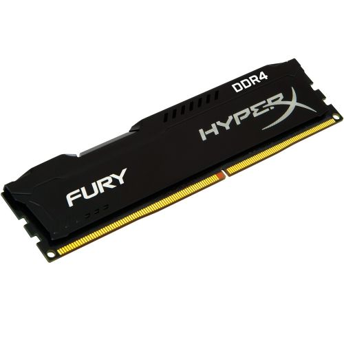 Memória DDR4 4GB 2400MHz CL15 Kingston HyperX Fury Black