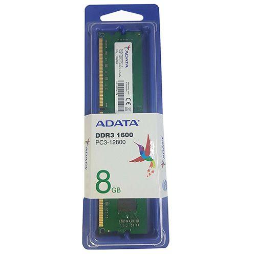 Memória NOTEBOOK DDR3 8GB 1600MHZ ADATA (AD3S1600W8G11-S)