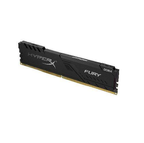 Memória GAMER DDR4 8GB 2400MHZ CL15 FURY Black Kingston (HX424C15FB3/8)