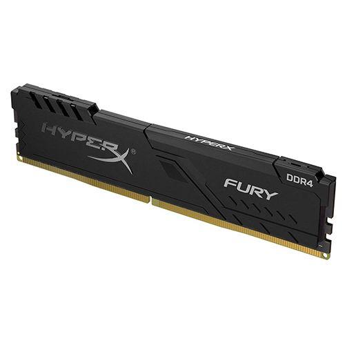 Memória GAMER DDR4 4GB 2666MHz CL16 FURY Black Kingston (HX426C16FB3/4)
