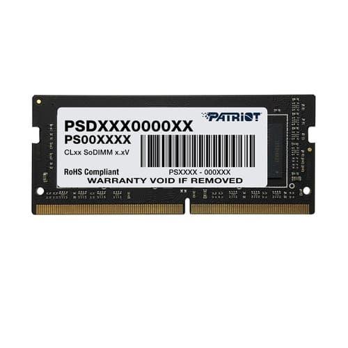 Memória NOTEBOOK DDR4 16GB 2666MHz CL19 Patriot (PSD416G26662S)