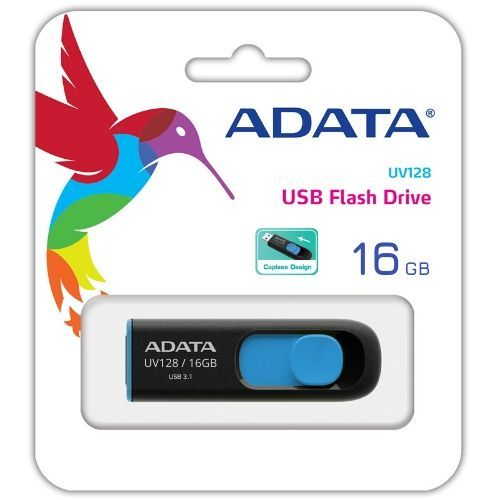 Pen Drive 16GB USB 3.0 ADATA (AUV128-16G-RBE)