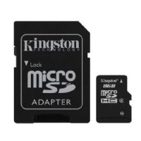 Cartão de Memória MicroSd 8GB 1 Adaptador Kingston CL4 SDC4/8GB