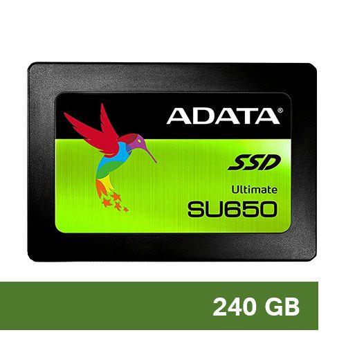 HD SSD 240GB 2.5 ADATA SU650 (ASU650SS-240GT-R)