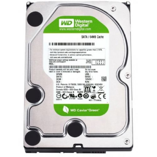 HD 1TB 7200RPM 64MB SATA3 WESTERN DIGITAL AV-GP WD10EURX (GAR 12M)
