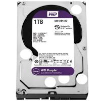 HD 1TB 5400RPM 64MB SATA3 (6 Gb/s) WD Purple WD10PURZ (HD para Vigilância)