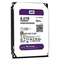HD 8TB 5400RPM 128MB SATA3 (6 Gb/s) WD Purple WD80PURZ (HD para Vigilância)