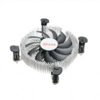 Cooler para Intel Perfil Baixo Akasa AK-CC7122EP01 (Para Gabinete Mini-ITX)