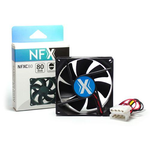 Cooler para Gabinete 80x80x25 NFX C80