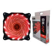 Cooler para Gabinete 120x120x25 LED Vermelho Empire (4421 - DX-12F)