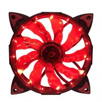 Cooler com LED Vermelho para Gabinete 120x120x25 NFX (C120LR)