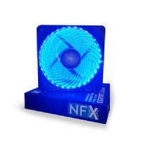 Cooler com LED Azul para Gabinete 120x120x25 NFX (C120LB33)
