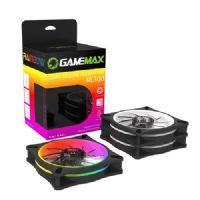 Cooler RGB Kit com 3 Peças + Controle Remoto Gamemax RL300