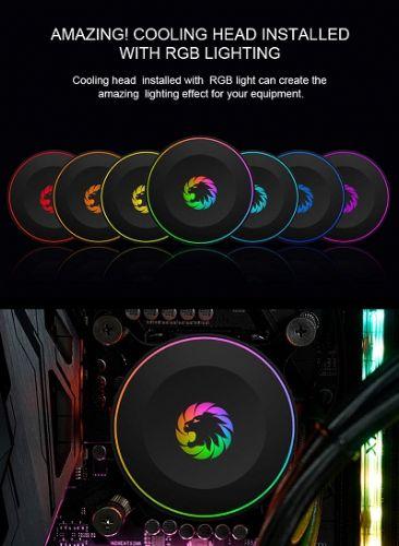 Water Cooler RGB 120mm Gamemax Iceberg Rainbow 120R