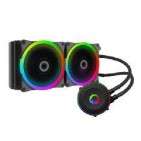 Water Cooler RGB 2X12cm Gamemax Iceberg Rainbow 240R