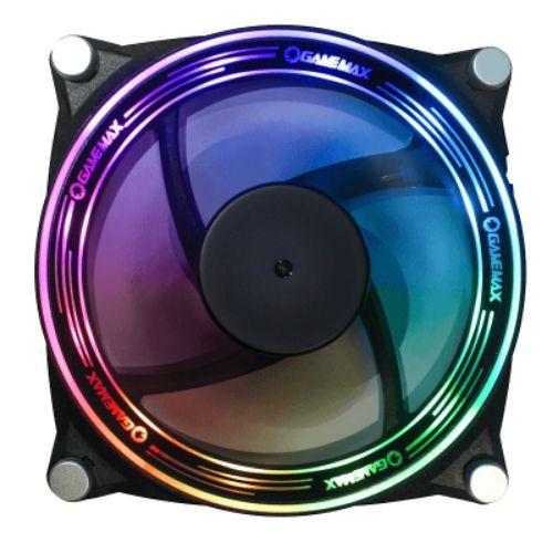 Cooler para Gabinete 120X120 LED RGB Big Bowl Gamemax GMX-12-RBB