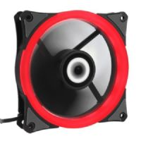 Cooler para Gabinete 120X120 LED Vermelho Ringforce Gamemax GMX-RF12R