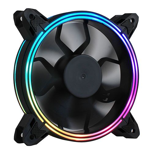 Fan para Gabinete 120x120x25 5 Colors NFX NFX12RING-C