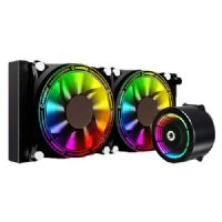 Water Cooler RGB 240mm com Controladora RMT1687H Gamemax Ice Chill 240
