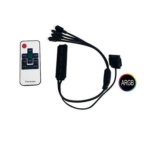 Water Cooler RGB 240mm com Controladora RMT1687H Gamemax Ice Chill 240