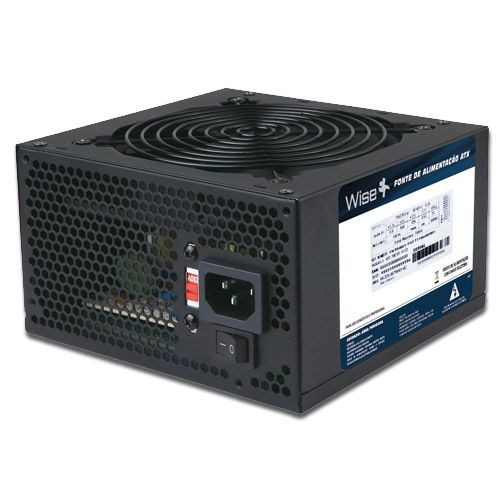 Fonte ATX 600w Real Wisecase WS-600 1X12