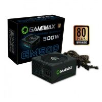 Fonte ATX 500W 80Plus PFC Ativo Bronze Gamemax GM500