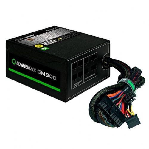 Fonte ATX 800W 80Plus Bronze PFC Ativo Gamemax GM800