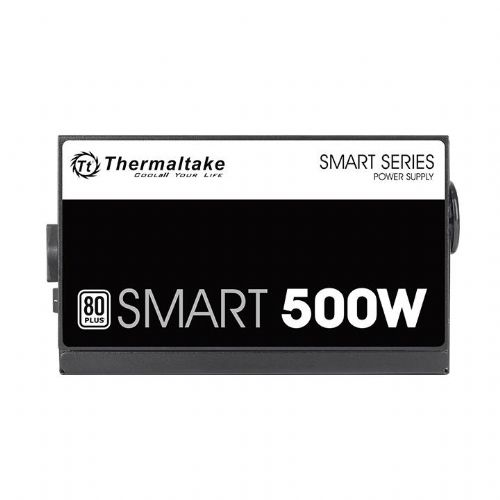 Fonte ATX 500W 80Plus White PFC Ativo Thermaltake Smart (PS-SPD-0500NPCWBZ-W)