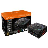 Fonte ATX 850W 80 Plus Gold, PCF Ativo, Modular - Thermaltake Toughpower RGB (PS-TPG-0850FPCGBZ-R)