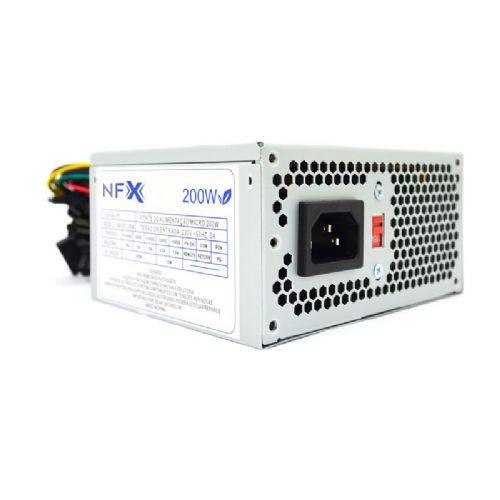 Fonte SFX 200W NFX CMMICRO-200W (SEM CABO DE FORÇA / SOMENTE PARA GABINETE SLIM M03)
