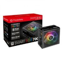 Fonte ATX 700W 80Plus White PCF Ativo Thermaltake Smart RGB (PS-SPR-0700NHFAWB-1)
