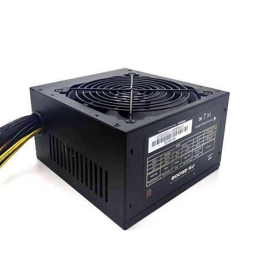 Fonte ATX 600W 80Plus Bronze PFC Ativo C3Tech PS-G600B