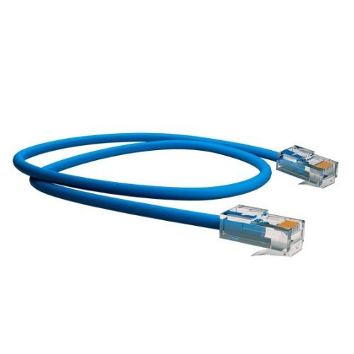 Patch Cord CAT5-E CMX T568A Azul 1,50m Sohoplus