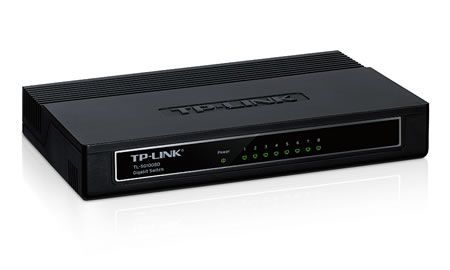 SWITCH 8 PORTAS 10/100/1000 TP-LINK TL-SG1008D