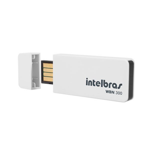 Rede Wireless USB Intelbras WBN300 300MBPS