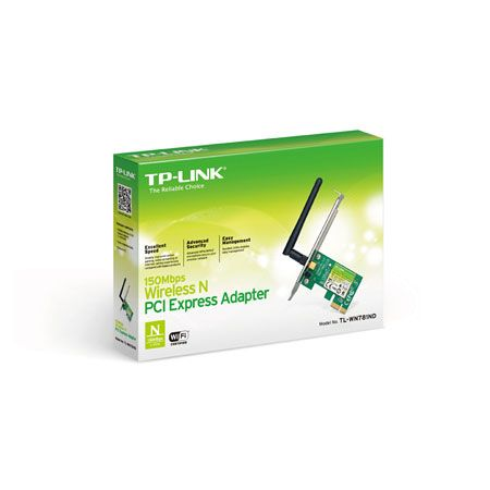 Wireless Rede PCI Express 150mbps TP-Link TL-WN781ND