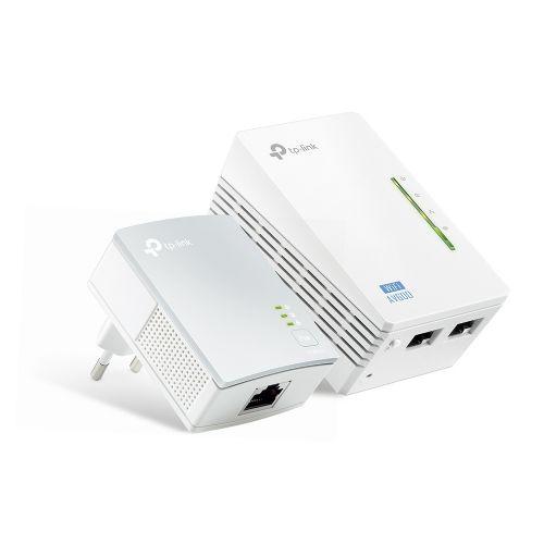 Kit Extensor de Alcance WiFi Powerline TP-LINK AV600 300mbps (TL-WPA4220KIT V3.0)