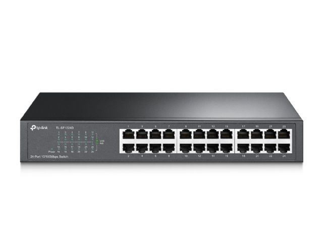 Switch 24 Portas 10/100 TP-Link TL-SF1024D